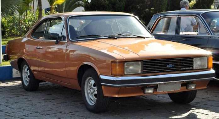 Chevrolet Opala Coupé facelift