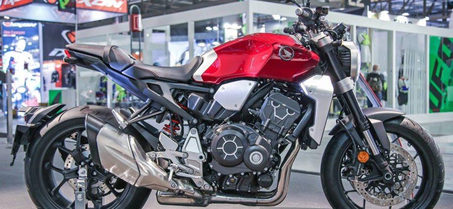 Honda CB 1000R 2019 no Brasil