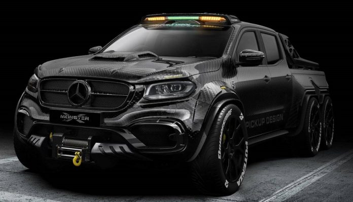 MERCEDES BENZ X CLASS EXY MONSTER BY CARLEX DESIGN 2018 01