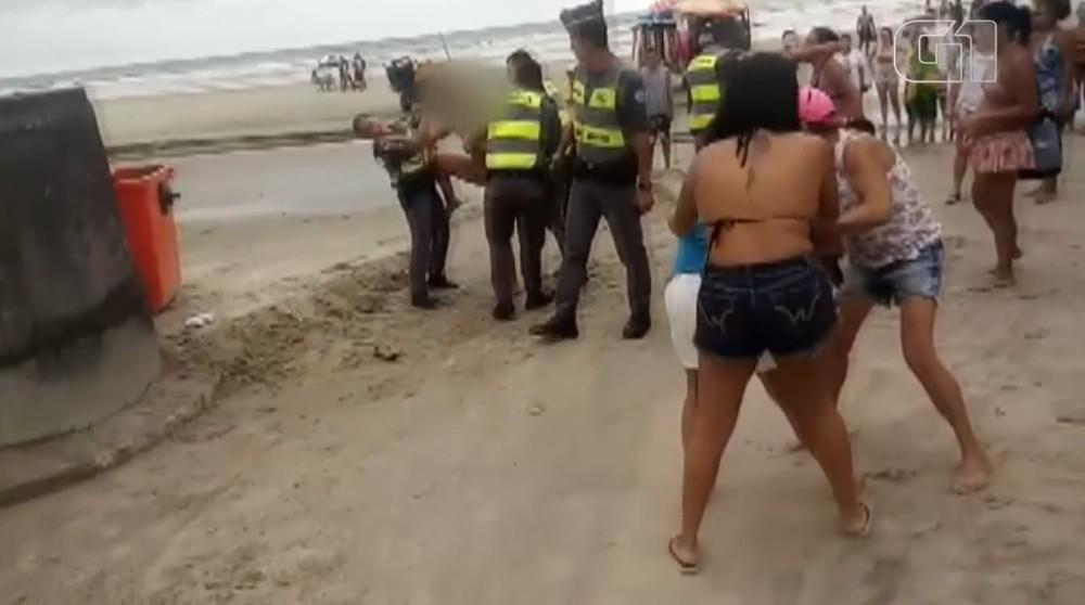 agressao policiais
