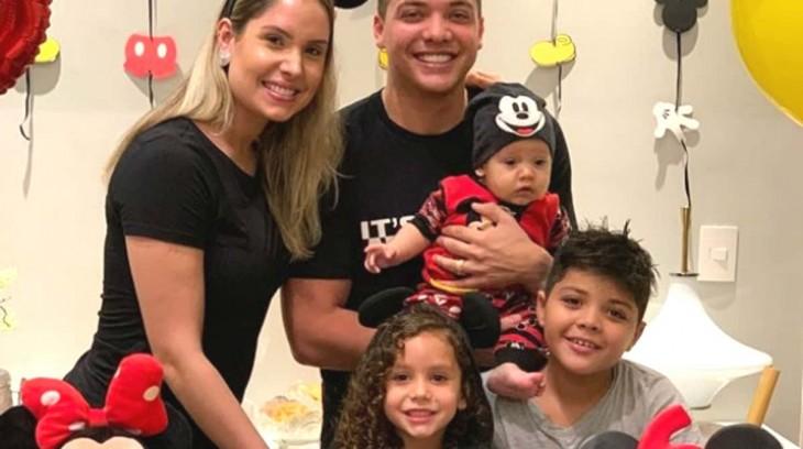 WESLEY SAFADAO E FAMILIA