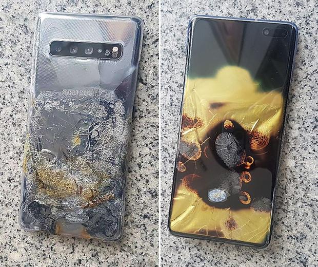 celular fogo