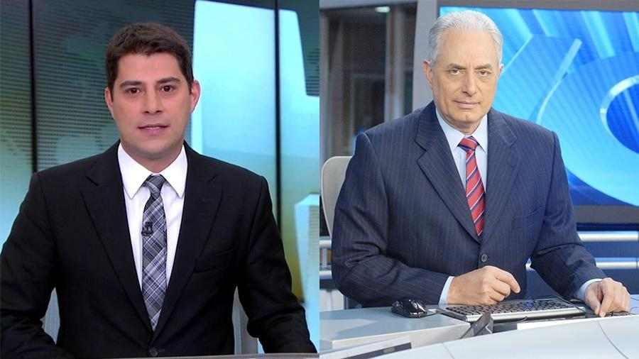 evaristo costa e william waack serao apresentadores da cnn
