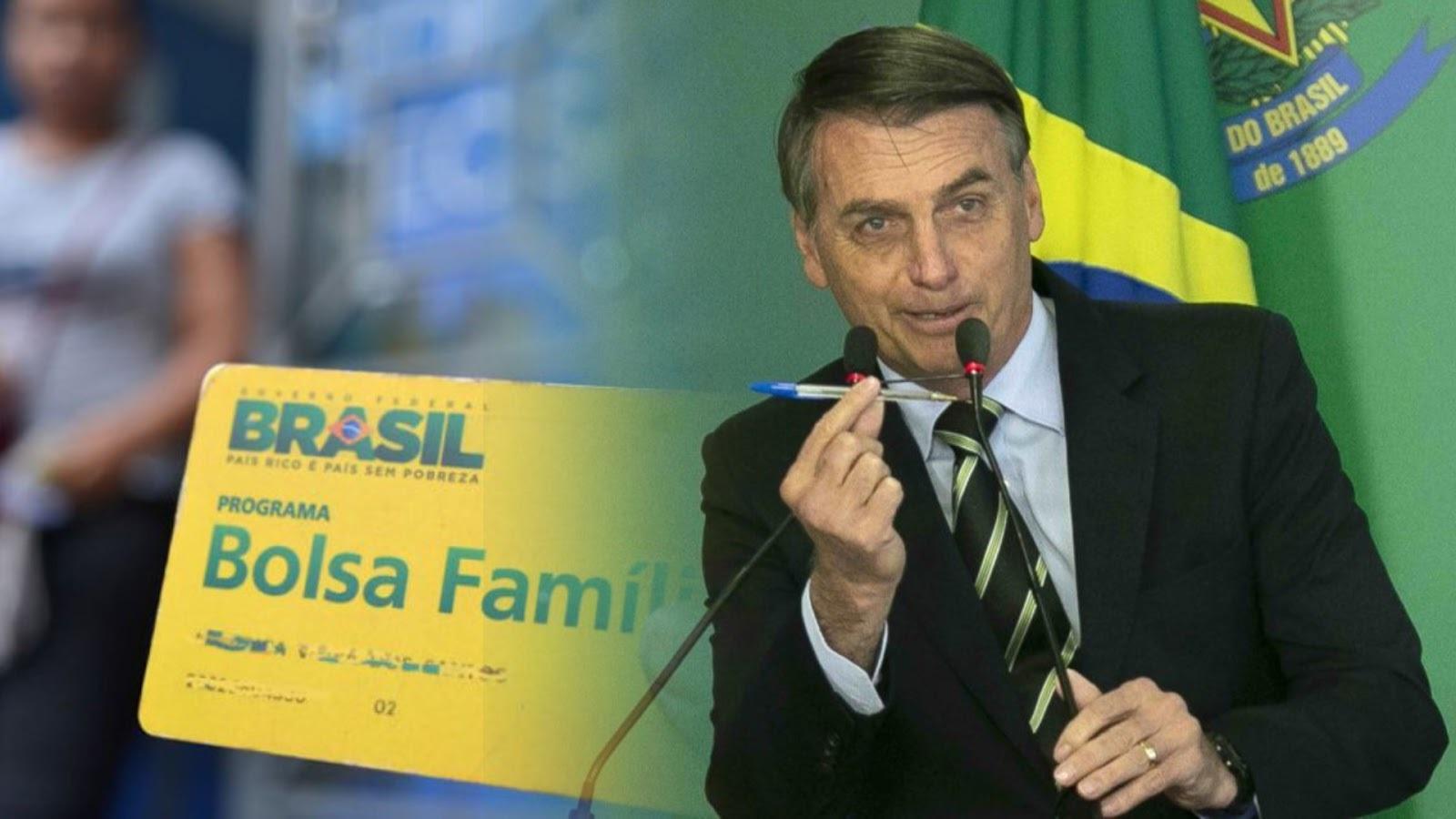 """O presidente Jair Bolsonaro deve aumentar valor do """"Bolsa Família"""" em 2020"""