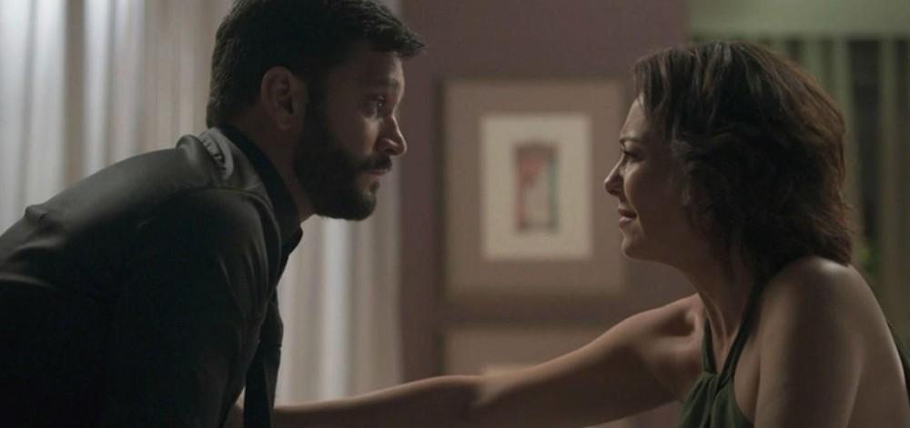 Diogo (Armando Babaioff) armará para que Nana (Fabiula Nascimento) perca seu bebê em Bom Sucesso