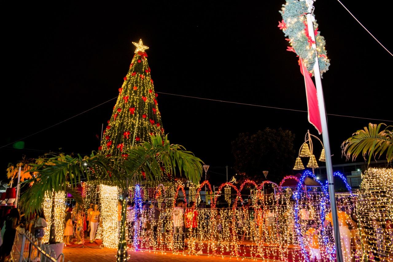 Decoração Natalina de Euclides da Cunha