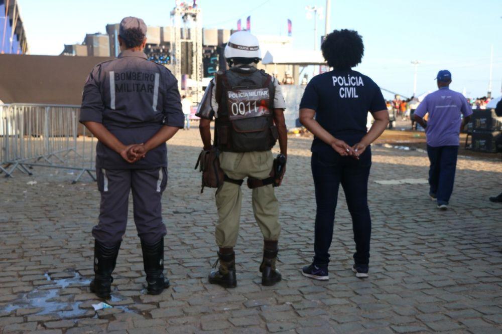 a Secretaria da Segurança Pública da Bahia (SSP-BA) montou um esquema especial para atender baianos e turistas