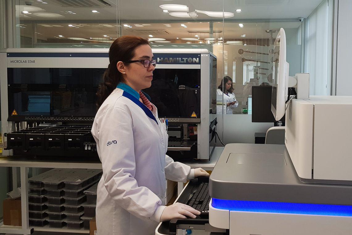 """Sequenciamento do genoma de 15 mil pessoas vai possibilitar prevenir e tratar doenças"""", que será publicada no final de semana."""