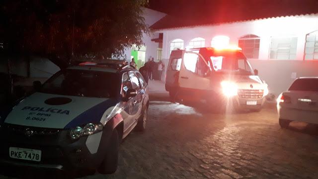Novo atentado foi registrado no Beco Fino, bairro Vila Nova em Senhor do Bonfim/ Foto reprodução: Blog do Netto Maravilha