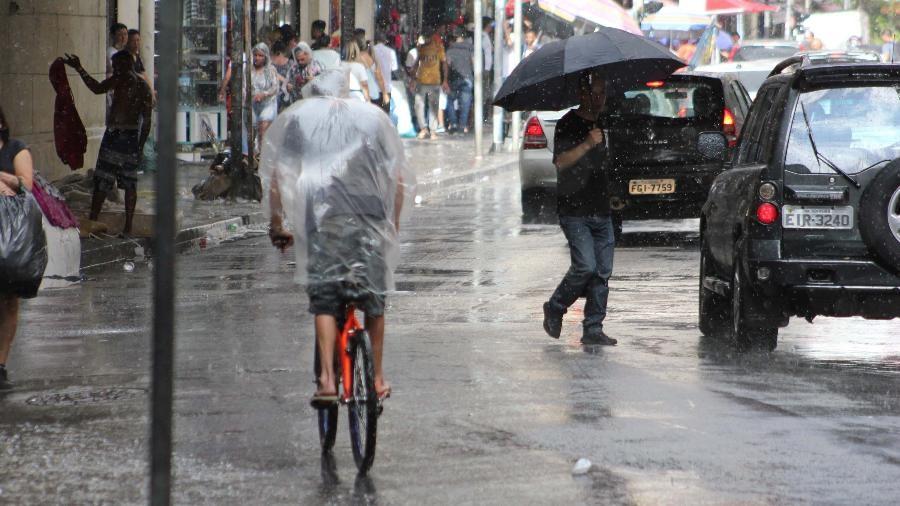 Chuva deixou vítimas fatais