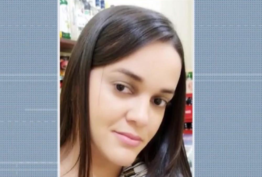 Daniela Matos foi baleada e levada para o Hospital de Uauá — Foto: Reprodução/TV Bahia