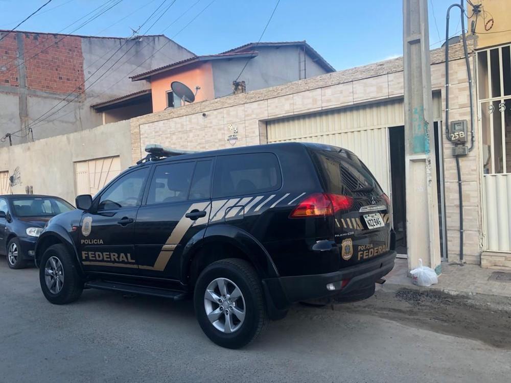 Operação de combate a fraude previdenciária cumpre mandados no norte da Bahia — Foto: Divulgação/Polícia Federal