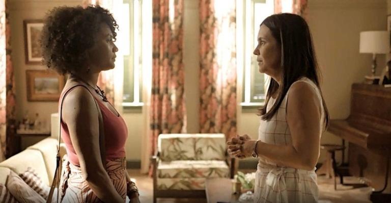 Camila (Jéssica Ellen) terá dias de cão por causa de brigas com a sogra em Amor de Mãe