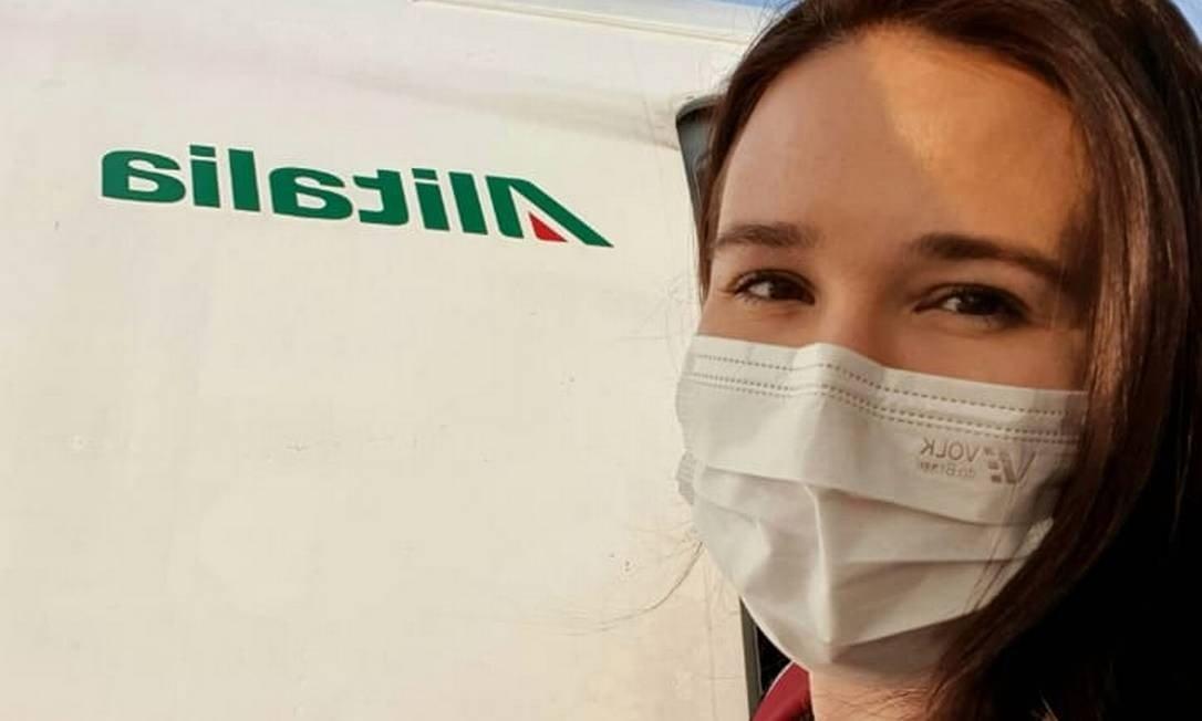 Renata Avila de Naves Mendonça: brasileira embarcou de volta ao Brasil neste domingo (22) Foto: Reprodução