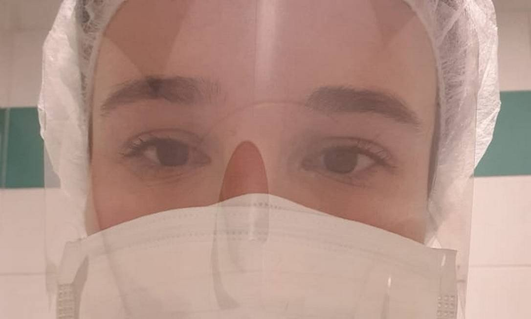 Renata Naves Mendonça: brasileira no front do combate ao coronavírus na Itália Foto: Reprodução