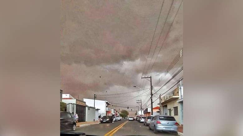 tempestade areia