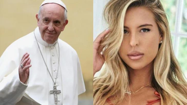 Papa Francisco e Natalia 801fa320b074d8421165e9a8eaacc0d48592d6ac