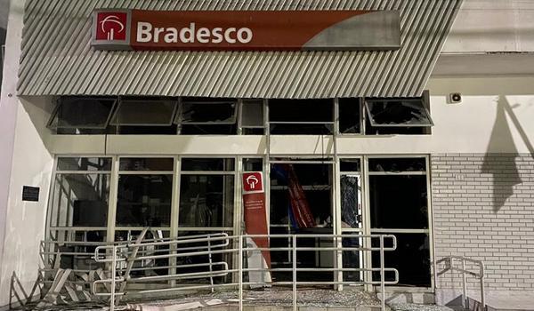 capa 130306 grupo armado invade agencia bancaria e explode cofre em itirucu