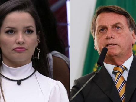 juliette do bbb 21 e jair bolsonaro presidente da republica