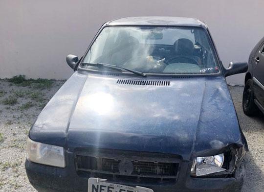 Homem foi preso e carro que ele dirigia na BA-120 foi apreendido   Foto: Notícias de Santaluz
