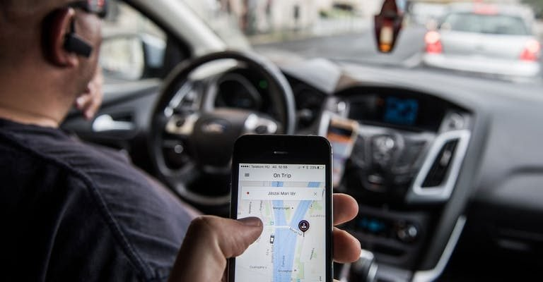 uber driver divulgacao