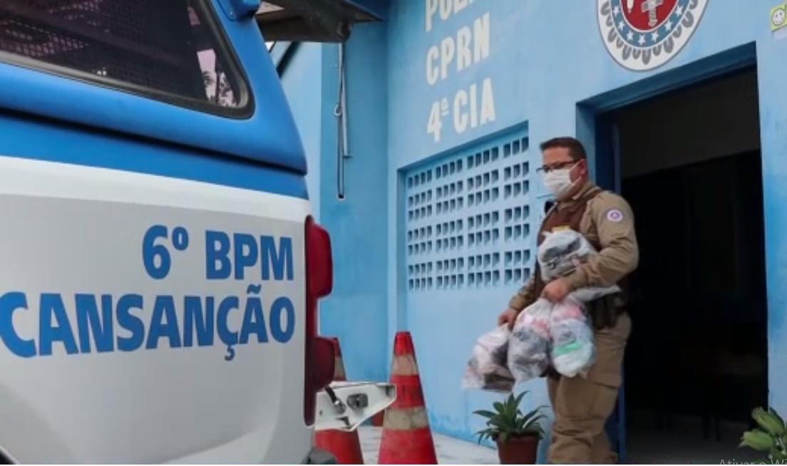 Polícia Militar de Cansanção