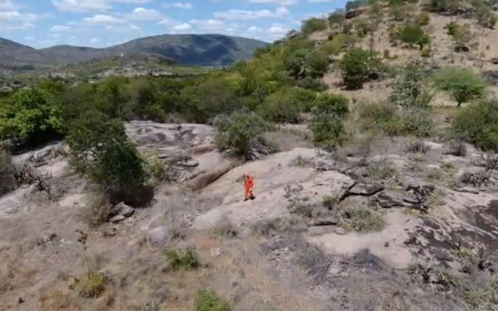 Garoto foi visto pela última vez na zona rural de Itiúba, região norte da Bahia — Foto: Reprodução/TV São Francisco