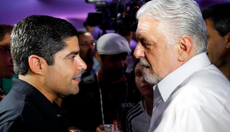 Pesquisa aponta a liderança do ex-prefeito de Salvador ACM Neto (DEM) na corrida ao Palácio de Ondina.