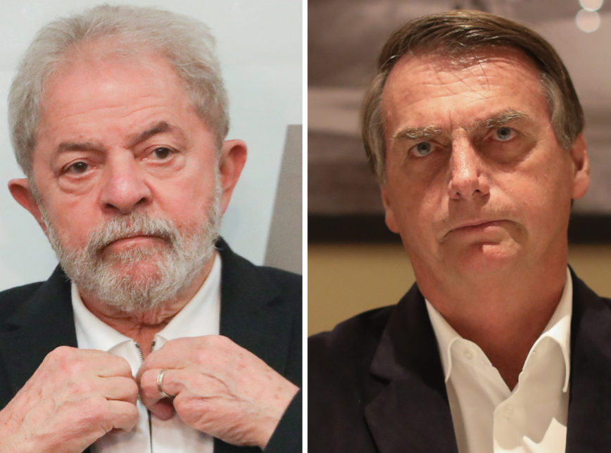 Lula, créditos da Foto: Sérgio Lima/PODER 360 Jair Bolsonaro/Foto reprodução